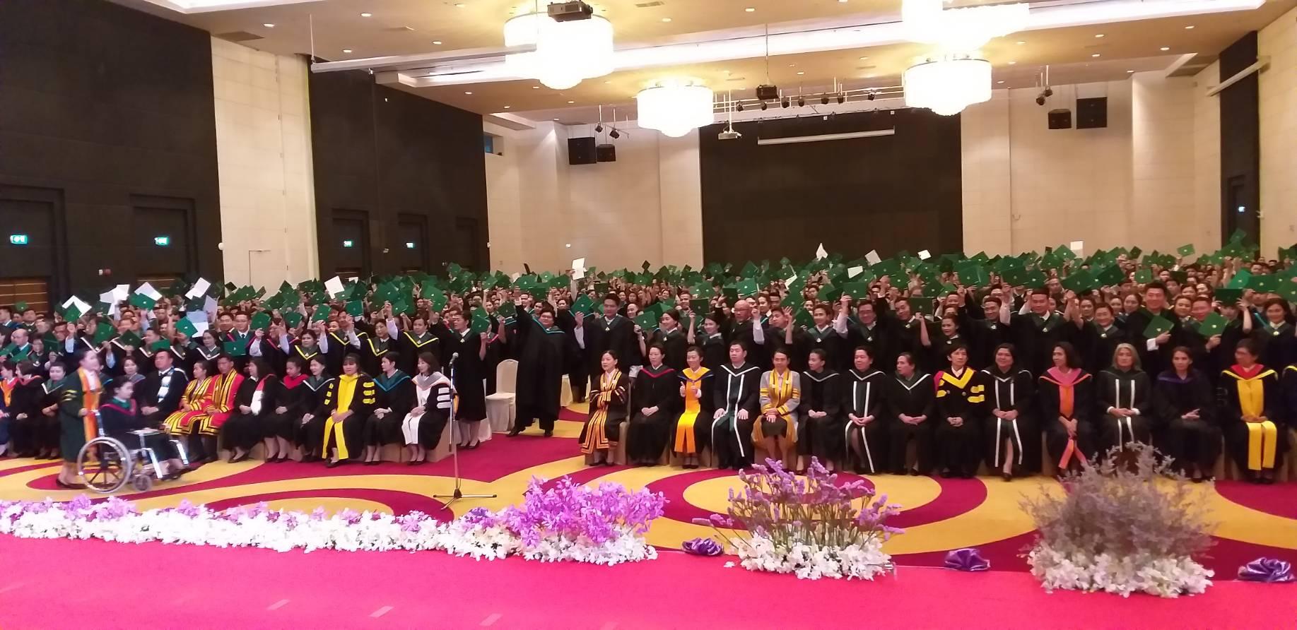 泰国留学|泰国格乐大学毕业典礼纪实